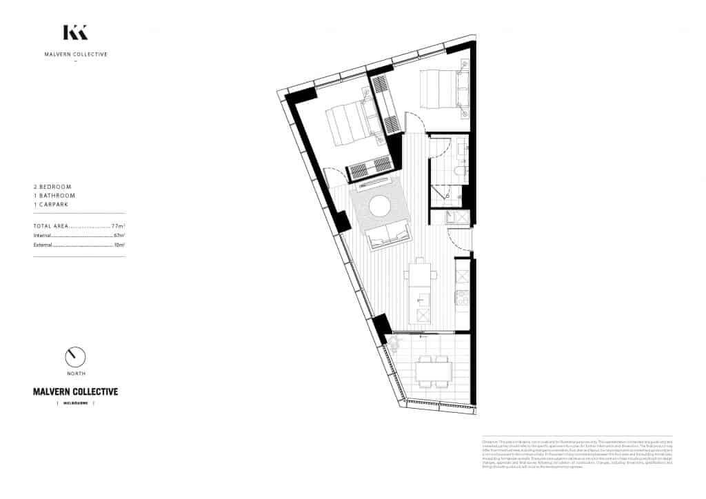 2B1B Kokoda Property