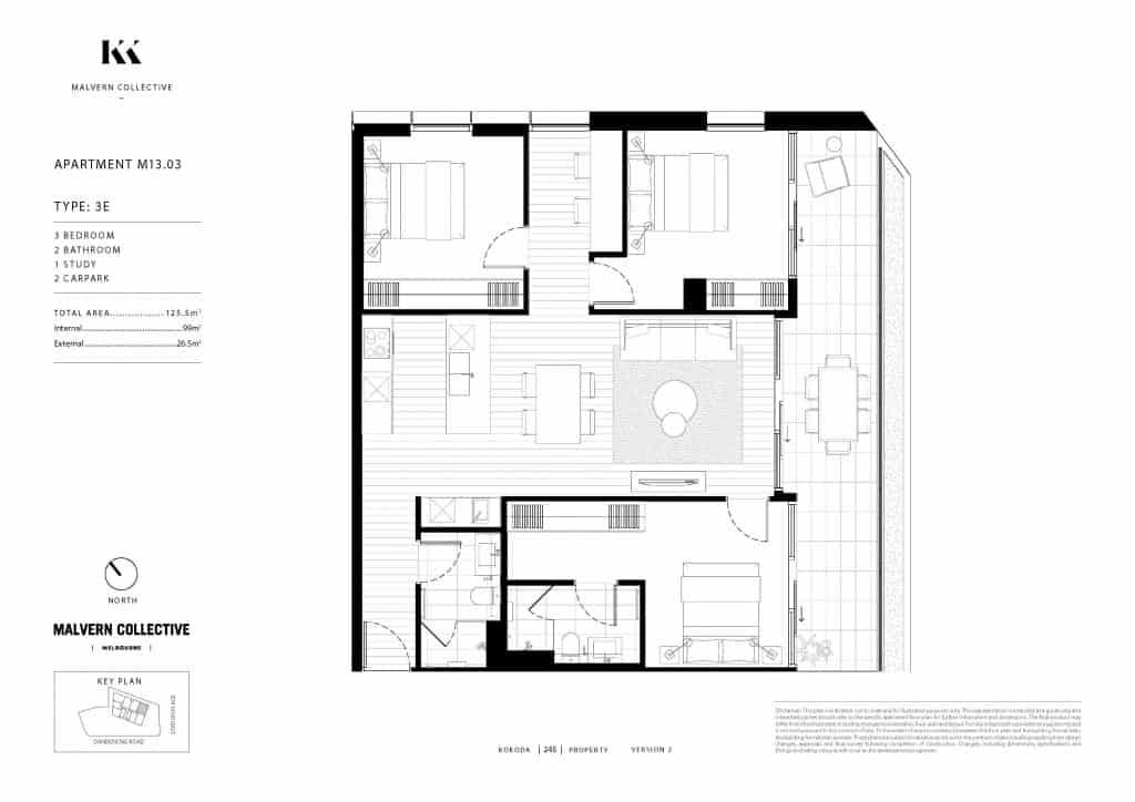 3 bed Kokoda Property