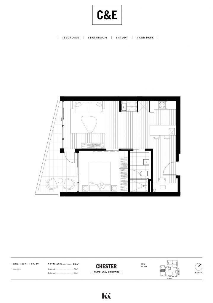 Chester Ella Floorplan C1510 002 Kokoda Property