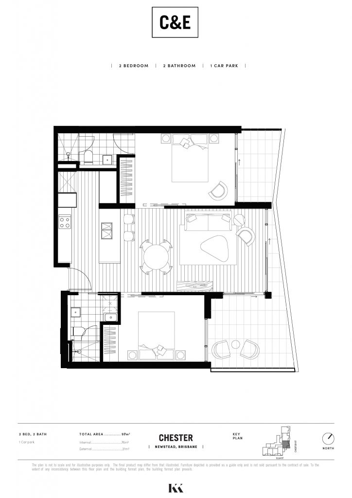Chester Ella Floorplan C203 edit Kokoda Property