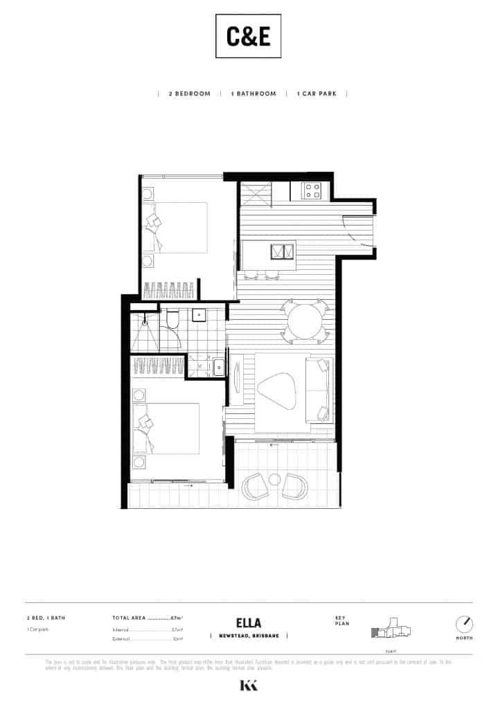 Chester Ella Floorplan E305 002 Kokoda Property
